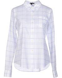 Theory Shirt - Lyst