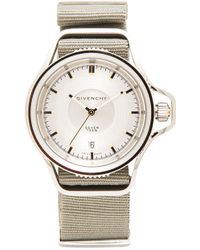 Givenchy Silver Seventeen Watch - Lyst