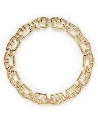 St. John - Crown Link Necklace - Lyst