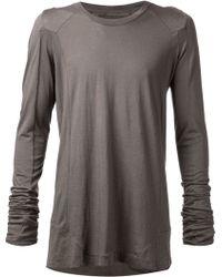 Julius Long Sleeve T-Shirt - Lyst