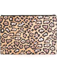 Givenchy | Leopard Print Clutch | Lyst