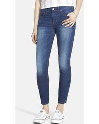 Madewell Skinny Jeans - Lyst