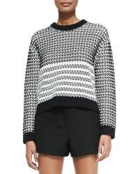 Proenza Schouler Long-sleeve Knit Sweater - Lyst