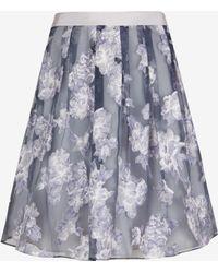 Ted Baker Graysie Full Floral Skirt - Lyst