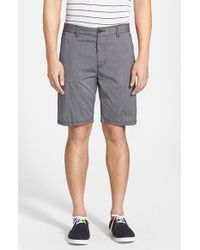 John Varvatos Stretch Cotton Shorts - Lyst