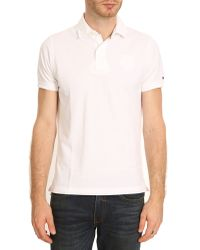 Tommy Hilfiger White New York Polo - Lyst