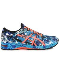 Asics | Gel Noosa Tri 11 Blue/black Trainers | Lyst