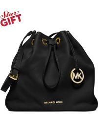 Michael Kors Michael Jules Large Drawstring Shoulder Bag - Lyst