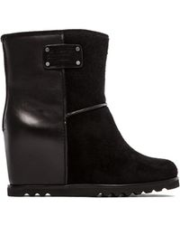 Marc By Marc Jacobs Winter Warming 50mm Wedge Booties - Lyst