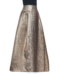 Sachin & Babi Noir Margarete Metallic Ball Skirt - Lyst