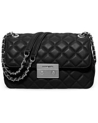 MICHAEL Michael Kors | Sloan Large Quilted Leather Chain Shoulder Bag | Lyst