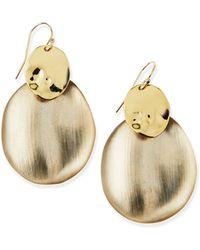 Alexis Bittar Vert Deau Liquid Chip Dangle Earrings - Lyst