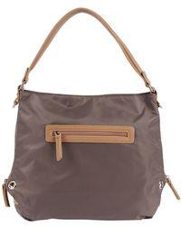 Sondra Roberts Nylon Grommet Shoulder Bag - Lyst