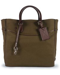Ralph Lauren Small Canvas Tote - Lyst