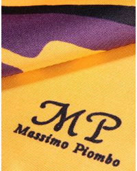 Mp Massimo Piombo | Square Scarf | Lyst