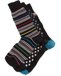 Paul Smith 3-pair Stripe  Polka-dot Sock Set - Lyst