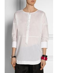 Day Birger Et Mikkelsen Starch Cotton-Blend Poplin Shirt - Lyst