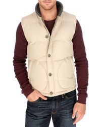 Lucky Brand - Workwear Puffer Vest - Lyst