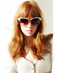 Goldendaze - Half-frame Sunglasses - Lyst