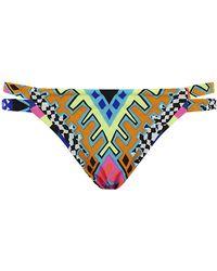 Mara Hoffman Reversible Side Strap Bikini Briefs - Lyst