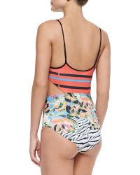 Clover Canyon - Toucan Cutout One-Piece Swimsuit - Lyst