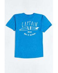 Captain Fin - Broken Tee - Lyst