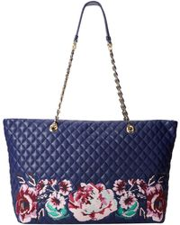 Love Moschino I Love Embroidery Tote - Lyst