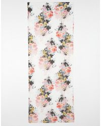 Warehouse - Floral Printed Scarf - Lyst