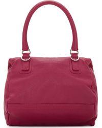 Givenchy Magenta Sugar Leather Small Pandora Bag - Lyst