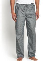 Calvin Klein Mens Print Woven Trousers - Lyst