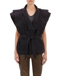 Isabel Marant Oversize Jeff Vest - Lyst