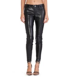 Capulet Vegan Leather Moto Pant - Lyst