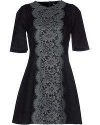 Dolce & Gabbana Short Dress black - Lyst