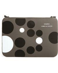 Comme Des Garcons Wallets Grey Black and White Dots Macbook Pro 15 Case - Lyst