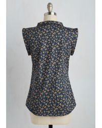 Mata Traders - Willow The Wisp Floral Top - Lyst