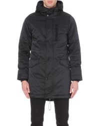 G-star Raw Hooded Parka Black - Lyst