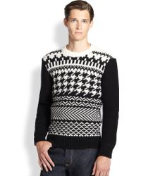 Kent And Curwen Fairisle Sweater - Lyst