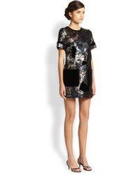 Marc Jacobs Lurex Patchwork Dress - Lyst