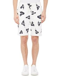 Band of Outsiders - Men's Sailboat-print Cuffed Shorts - Lyst