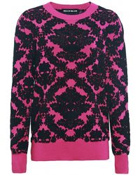 House Of Holland Vintage Brocade Knit Sweater - Lyst