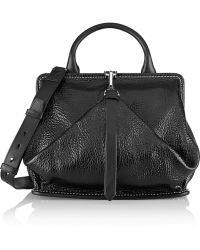 Alexander Wang Opanca Snake Effect Leather Shoulder Bag - Lyst