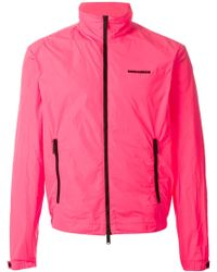 DSquared² Zipped Up Sport Jacket - Lyst