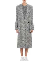 "Public School - Static"" Jacquard Double-Breasted Coat - Lyst"