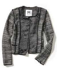 Milly Piped Cardigan Jacket - Lyst