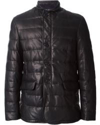Etro Buttoned Padded Jacket - Lyst