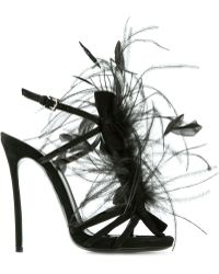 DSquared² Feather Sandals - Lyst