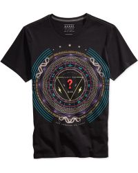 Guess Graphic T-Shirt - Lyst