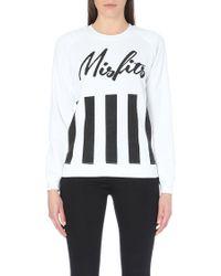 Zoe Karssen Misfits Jersey Sweatshirt - For Women - Lyst