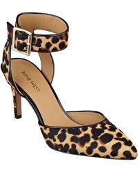 Nine West Callen Ankle Strap High Heels - Lyst