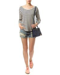 Denim & Supply Ralph Lauren - Striped Cotton Top - Lyst